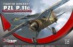 Mirage 481009 1/48 PZL P.11c '112 ESKADRA MYŚLIWSKA, BRYGADA POŚCIGOWA, WRZESIEŃ 1939'