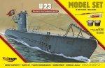Mirage 840066 1/400 [MODEL SET]  'U23'  (Niemiecki Okręt Podwodny z II WŚ typ IIB)