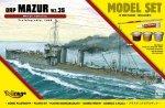 Mirage 840061 1/400 [MODEL SET]  ORP 'MAZUR' 1935 (Polski Okręt Szkolny)