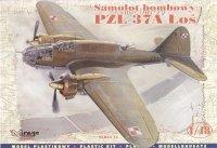 Mirage 481301 1/48 PZL-37A Łoś samolot bombowy