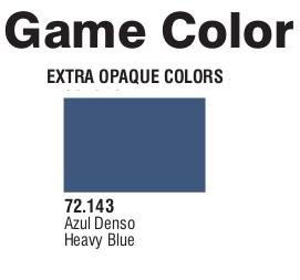 Game Color (72143) Extra Opaque | Heavy Blue 17 ml.