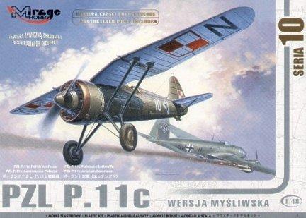 Mirage 481001 1/48 PZL P.11c wersja myśliwska