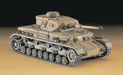 Hasegawa MT42 1/72 Pz.Kpfw. IV ausf. F2 (German Army Battle Tank)