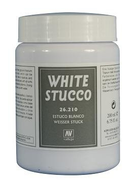 Vallejo 26210 | 200 ml | White Stucco (Biały tynk)