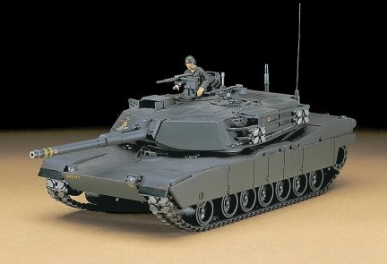 Hasegawa MT33 1/72 M-1 Abrams (U.S. Army Battle Tank)