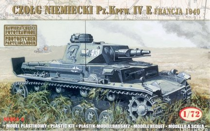 Mirage 72863 1/72 German Tank Pz.Kpfw. IV Ausf. E 'France 1940'