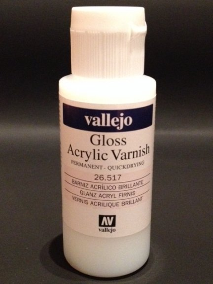 Vallejo 26517 | 60 ml | Gloss Acrylic Varnish