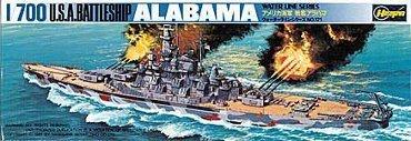 Hasegawa WLB121 1/700 U.S.A. Battleship Alabama