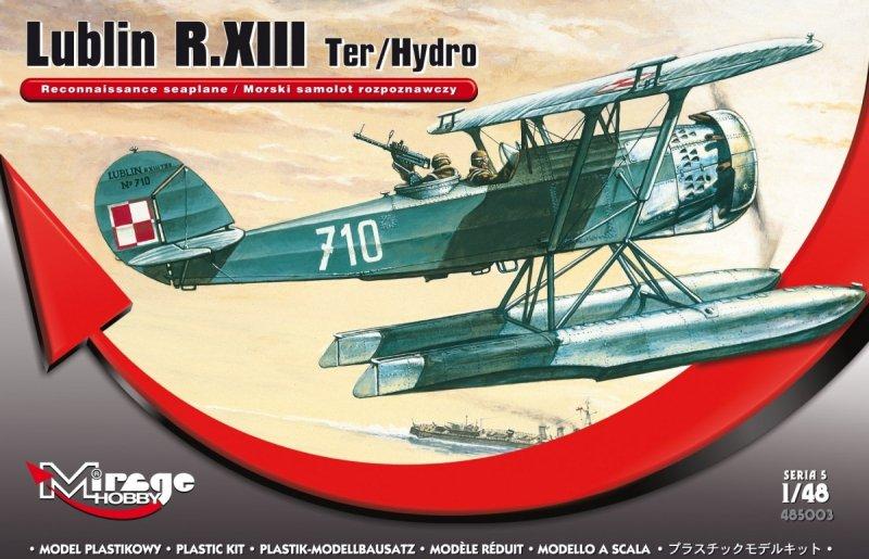 Mirage 485003 1/48 Lublin R.XIII Ter / Hydro (Morski samolot rozpoznawczy)