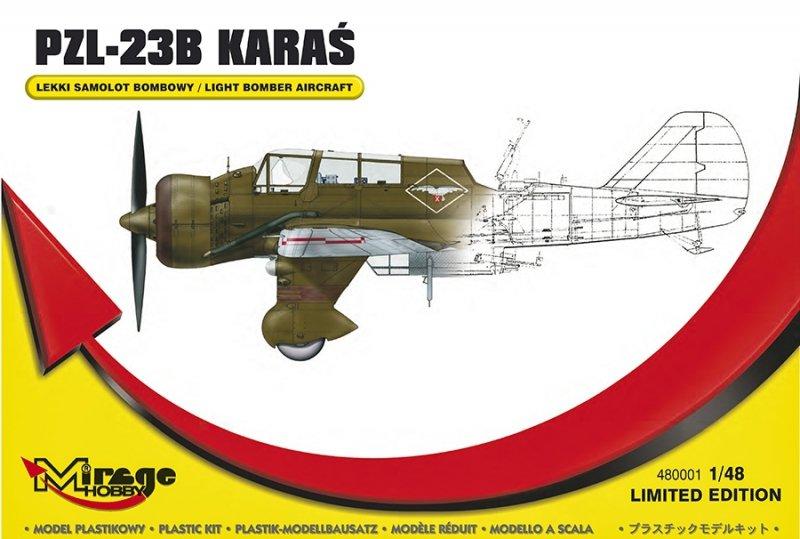 Mirage 480001 1/48 Lekki Samolot Bombowy PZL-23B Karaś Wersja Limitowana