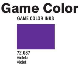 Game Color (72087) Game Ink | Inky Violet 17 ml.