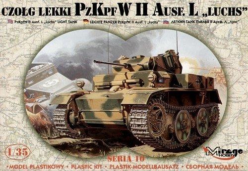 Mirage 35107 1/35 PzKpfw II Ausf L 'LUCHS' Czołg Lekki