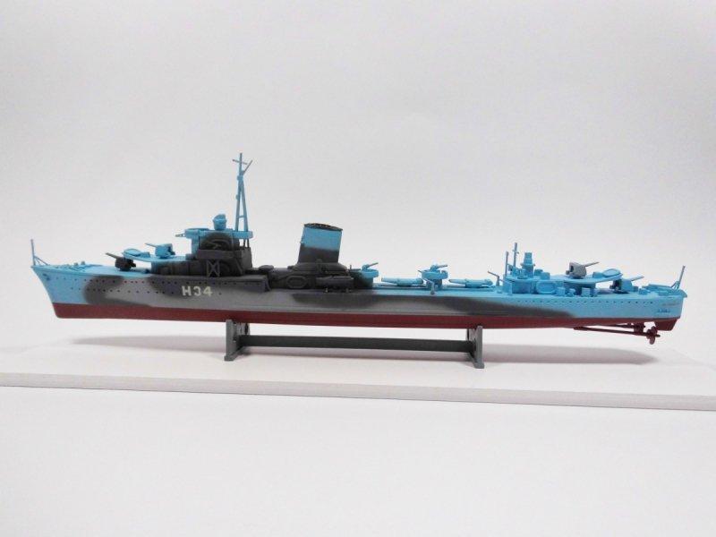 Mirage 840091 1/400 [MODEL SET]  ORP 'BŁYSKAWICA' – wz.44   [Polski Niszczyciel II WŚ]