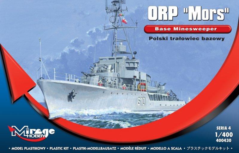 Mirage 400430 1/400 ORP 'MORS' POLSKI TRAŁOWIEC BAZOWY