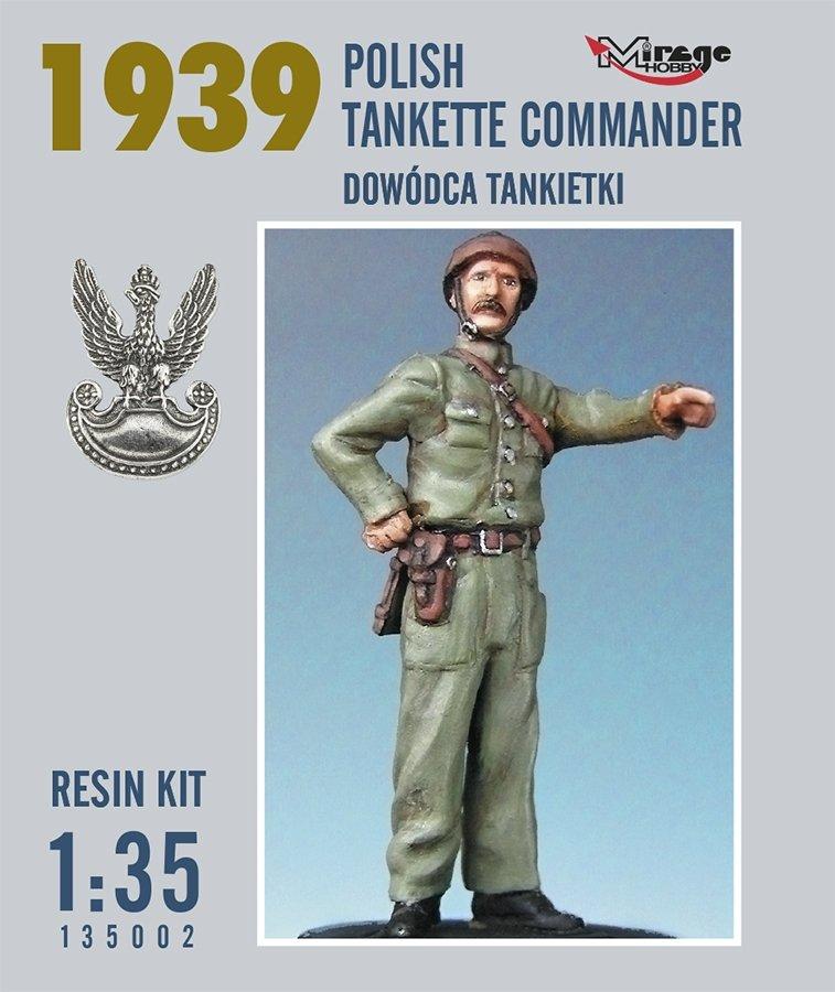 Mirage 135002 1:35 Dowódca Tankietki (Rok 1939) [Resin Kit]