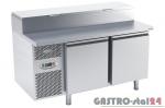 Stół chłodniczy do przygotowywania pizzy z płytą granitową płaską DM 94048 1475x800x850/1030