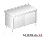 Stół z szafką przelotowy DM 3118 P szerokość: 600 mm (800x600x850)