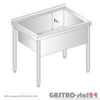 Stół z basenem DM 3235 szerokość: 600 mm, głębokość: 400 mm (800x600x850)