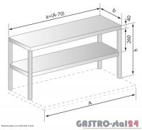 Nadstawki na stół DM 3139 (530x300x600)