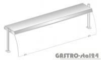 Nadstawka z oświetleniem diodowym i z grzaniem i oświetleniem halogenowo-kwarcowym DM 94580 DG-E 2251x460x470