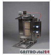 Opiekacz gazowy - gyros nieobudowany wsad: 20-40 kg ADA-OG 20