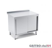 Stół przyścienny z drzwiami suwanymi wym. 1400x700x850