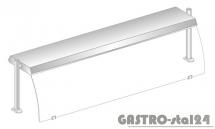 Nadstawka z grzaniem i oświetleniem halogenowo-kwarcowym DM 94580 G-E 1234x460x470