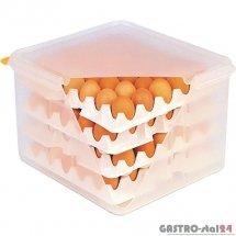 Pojemnik na jajka z 8 tacami Araven