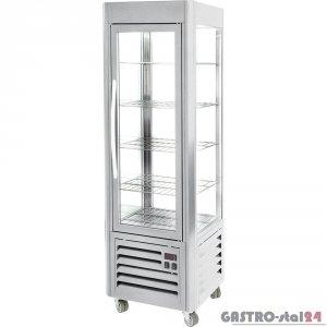 Witryna ekspozycyjna chłodnicza z półkami 360 l Roller grill