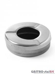 Popielnica z pokrywką (do użytku poza budynkiem) - śr. 90 mm