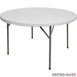 Stół cateringowy składany okrągły fi 1150 h 740 mm Fiesta