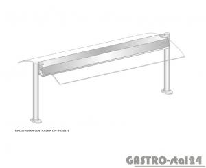 Nadstawka centralna z grzaniem i oświetleniem DM-94581 G-E wym. 895x575x470