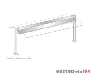 Nadstawka centralna z grzaniem i oświetleniem DM-94581 G-E wym. 1912x575x470
