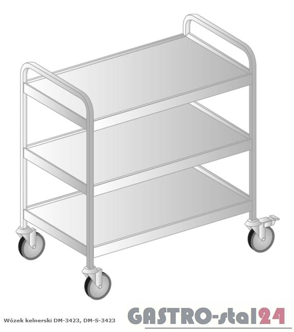 Wózek kelnerski DM-S 3423 szerokość: 585 mm (885x585x870)
