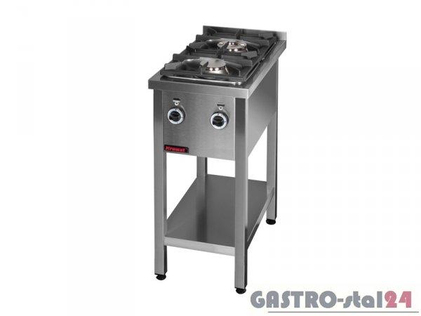 Kuchnia gazowa 2-palnikowa 000.KG-2M, 400x700x850