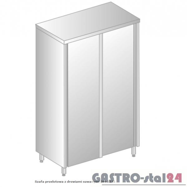 Szafa przelotowa z drzwiami suwanymi DM 3333.02 szerokość: 700 mm, wysokość: 2000 mm  (800x700x2000)