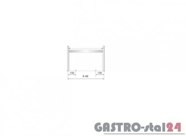 Nadstawka z grzaniem i oświetleniem DM 94582 G 865x480x480