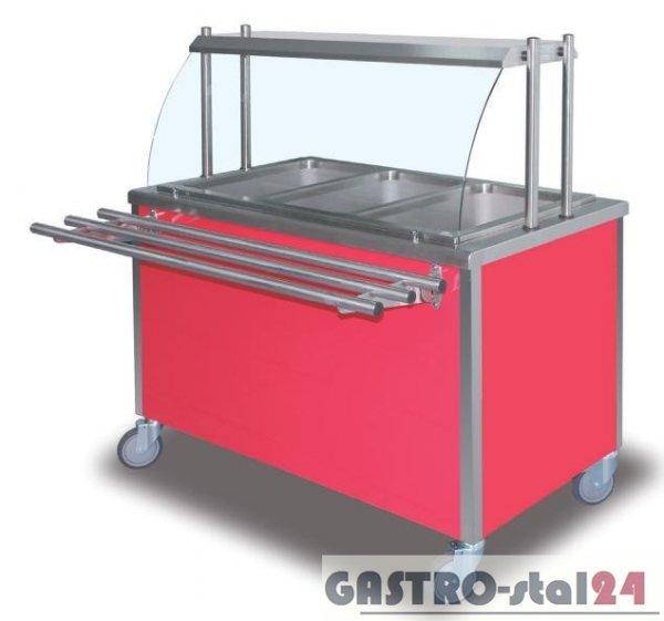 Stanowisko jezdne z wanną chłodniczą DM-94800.3 1204x680x850