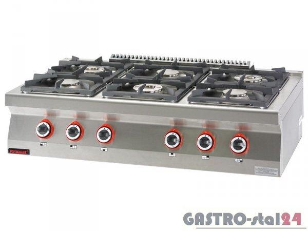 Kuchnia gazowa 6-palników 700.KG-6 1200x700x280