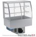 Witryna chłodnicza po łuku z klapkami DM-94950.2K wym. 770x614x1429mm