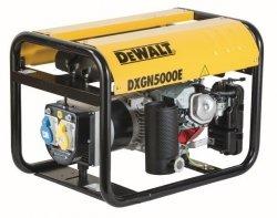 Agregat prądotwórczy DeWalt DXGN 5000E AVR PE532THI00Q 4,8 kW 3-fazowy