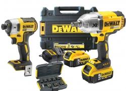 2 narzędziowy zestaw combo Dewalt DCF899P2, DCF887NT,  DT7507 18V 2X5.0Ah