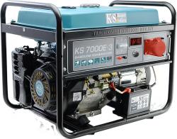 Agregat prądotwórczy benzyna KS 7000E-3 230 V/ 400V /12V 3-fazowy 5.5 kW