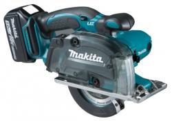 Akumulatorowa przecinarka do metalu Makita DCS552RTJ 18V 2x5.0Ah