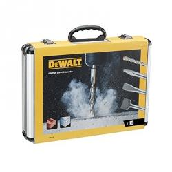 Zestaw dłut i wierteł SDS-Plus DEWALT DT9679  15szt.