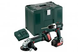 Combo Set 2.4.1 18 V (685038000) BS 18 LT + W 18 LTX 125 Quick  Metabo
