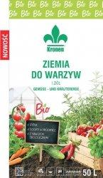 Ziemia BIO do warzyw i ziół Kronen 20l pH5,5-6