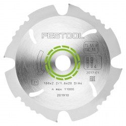 Diamentowa tarcza pilarska Festool 160x2,2x20 DIA4 201910