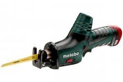 Akumulatorowa wyrzynarka Metabo z brzeszczotem szablastym PowerMaxx ASE 10,8 V