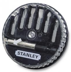 """Zestaw bitów końcówek 1/4"""" - 7 szt. Stanley 1-68-737"""